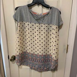 Jolt short sleeved top size 3X
